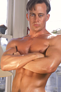 male muscle porn star: Casey Williams, on hotmusclefucker.com