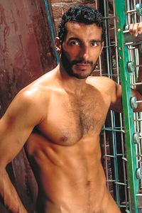 male muscle gay porn star Miguel Leonn | hotmusclefucker.com