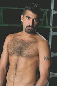 male muscle gay porn star Sarib | hotmusclefucker.com