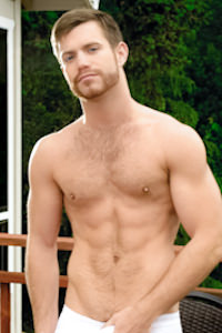 male muscle porn star: Trent Locke, on hotmusclefucker.com