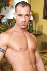 male muscle gay porn star Kyle Lewis | hotmusclefucker.com