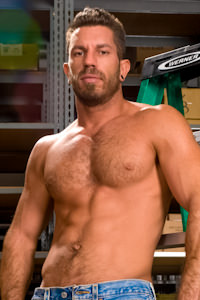 male muscle gay porn star Damien Stone | hotmusclefucker.com