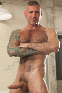 male muscle porn star: Nick Moretti, on hotmusclefucker.com