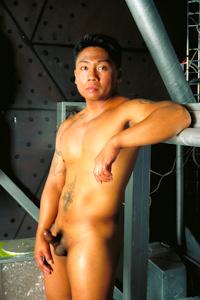 male muscle porn star: Xavier Vitale, on hotmusclefucker.com