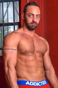 male muscle gay porn star Fabio Stallone | hotmusclefucker.com