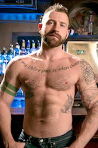 male muscle porn star: Aleks Buldocek, on hotmusclefucker.com