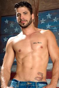 male muscle porn star: Ray Han, on hotmusclefucker.com