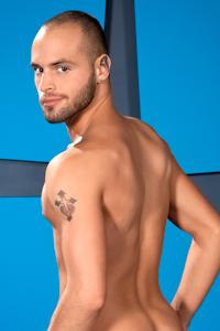 male muscle porn star: Nova Rubio, on hotmusclefucker.com