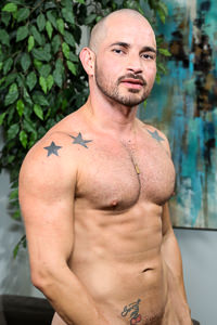 male muscle porn star: Alex Torres, on hotmusclefucker.com