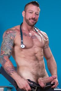male muscle gay porn star Hugh Hunter   hotmusclefucker.com