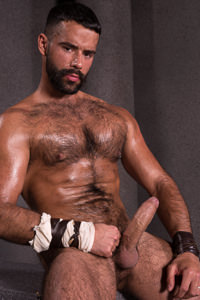 male muscle porn star: Teddy Torres, on hotmusclefucker.com