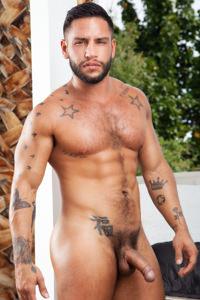 male muscle gay porn star Brock Banks | hotmusclefucker.com