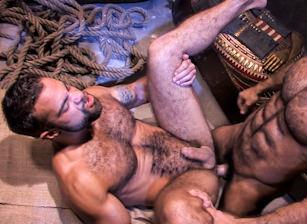 gay muscle porn clip: Mirage - Huessein & Steve Cruz, on hotmusclefucker.com