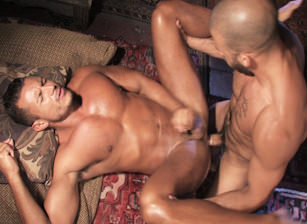 gay muscle porn clip: Tales Of The Arabian Nights, Part 1 - Angelo Marconi & Austin Wilde & David Dirdam, on hotmusclefucker.com