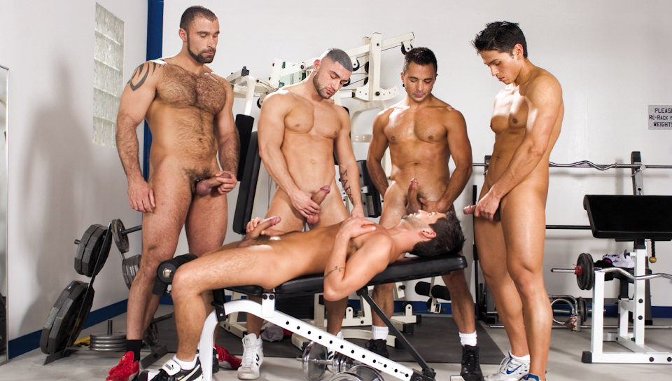 Gym gay nude, by can condom get i partner pregnant sperm taking