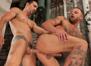 gay muscle porn clip: Tools Of The Trade - Derek Parker & Jimmy Durano, on hotmusclefucker.com
