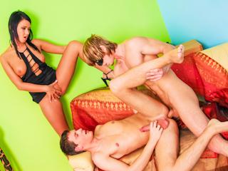 Bisexual creampie movies