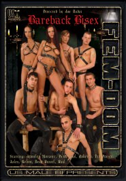 Bareback Bisex Fem-Dom Dvd Cover