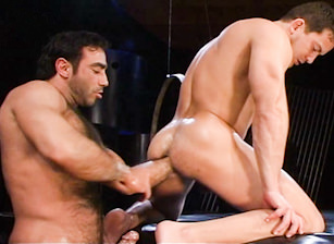 gay muscle porn clip: Fistpack 5 - Anal Tap - Carlos Morales & Huessein, on hotmusclefucker.com