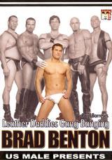 Leather Daddies Gang Banging Brad Benton Dvd Cover