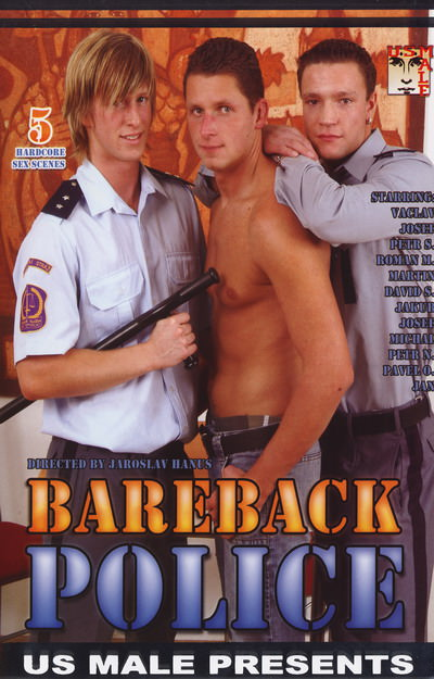 Bareback Police, muscle porn movies / DVD on hotmusclefucker.com