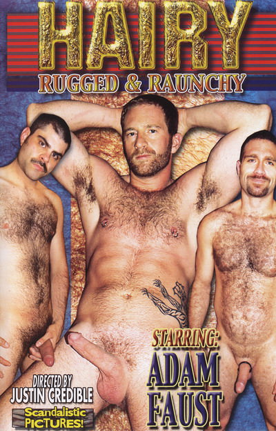 Hairy Rugged and Raunchy, muscle porn movies / DVD on hotmusclefucker.com