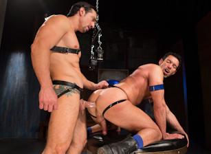 Jimmy Durano & Alexander Garrett in The Sub | hotmusclefucker.com