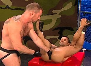 gay muscle porn clip: Fisting Network - Adam Faust & Armando Cortez, on hotmusclefucker.com