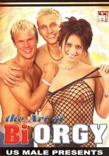 The Art Of Bi Orgy Dvd Cover