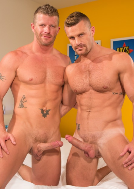 gay muscle porn movie Landon Conrad And Jeremy Stevens | hotmusclefucker.com
