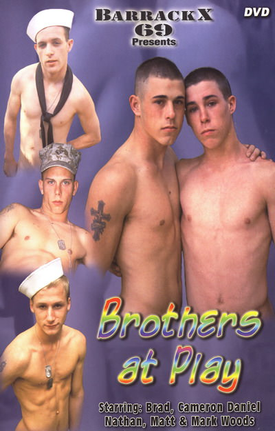 Brothers At Play, muscle porn movies / DVD on hotmusclefucker.com