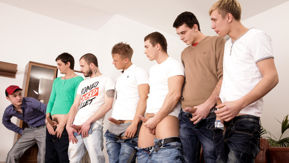 Gaykakke # 02, Scene # 04 – Chris Hollander, Marcos Rue, Tony, Adam Black, Adam West, Sven Laarson, Martin Love (malereality)