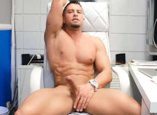 gay muscle porn clip: Private Office - Cody Cummings, on hotmusclefucker.com
