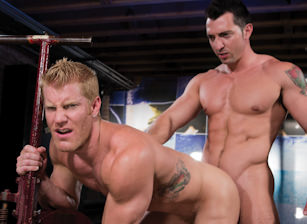 gay muscle porn clip: Dirty Fuckers - Jimmy Durano & Johnny V, on hotmusclefucker.com