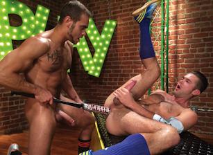 Brock Avery & Mike De Marko in Play Hard | hotmusclefucker.com