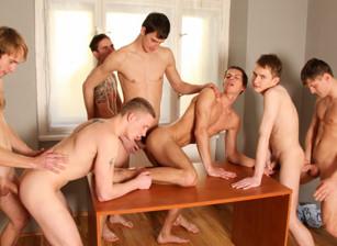Bareback Hospital Orgy, Scene #02