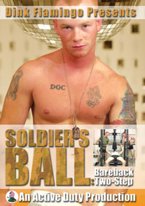 Soldier's Ball: Bareback Two-Step DVD Cover