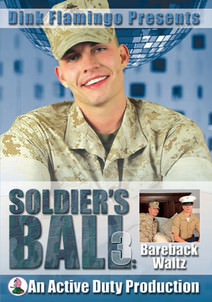 Soldier's Ball 3: Bareback Waltz DVD Cover