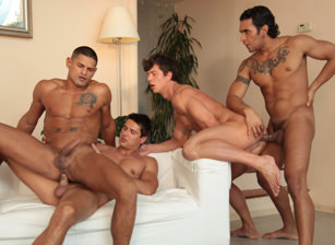 Sex City, Part 2:  Nicolas Taxman, Brandon Manilow, Lucio Saints, Benjamin Bloom