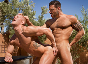 gay muscle porn clip: Sidewinder - Johnny V & Letterio Amadeo, on hotmusclefucker.com