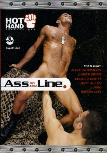 gay muscle porn movie Ass On The Line | hotmusclefucker.com
