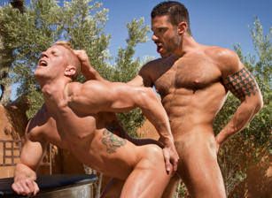 Johnny V & Letterio Amadeo in Sidewinder   hotmusclefucker.com