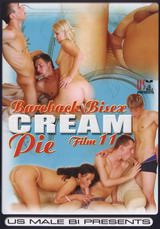 Bareback Bisex Cream Pie #11 Dvd Cover