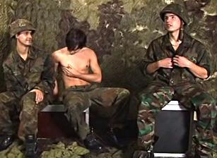 Bareback Gangbang Recruits #02, Scene #04