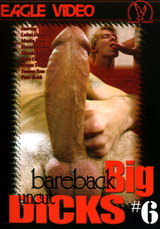 Bareback Big Uncut Dicks #06 Dvd Cover