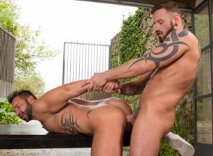 Martin Mazza & Antonio Miracle in Hung Country | hotmusclefucker.com