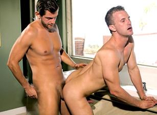 Cameron Adams & Lucas Knowles in Summer Heat | hotmusclefucker.com