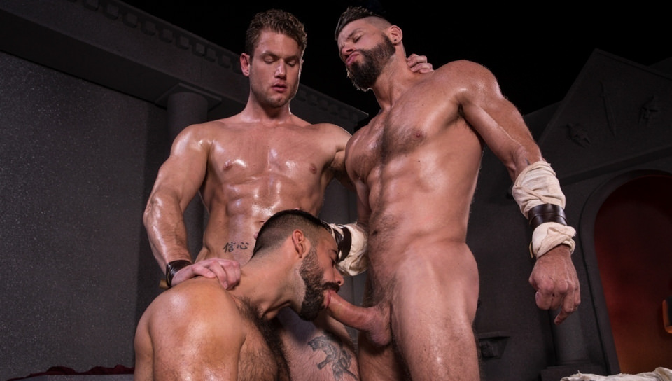 Erectus, Scene # 02 – Tex Davidson, Ace Era, Teddy Torres (ragingstallion)