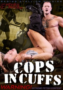 gay muscle porn movie Cops In Cuffs | hotmusclefucker.com