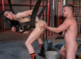 gay muscle porn clip: The Big Tool - Brian Bonds & James Oakleigh, on hotmusclefucker.com